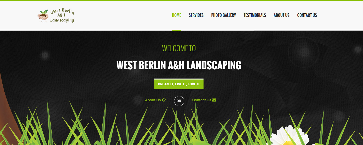 West Berlin A&H Landscaping